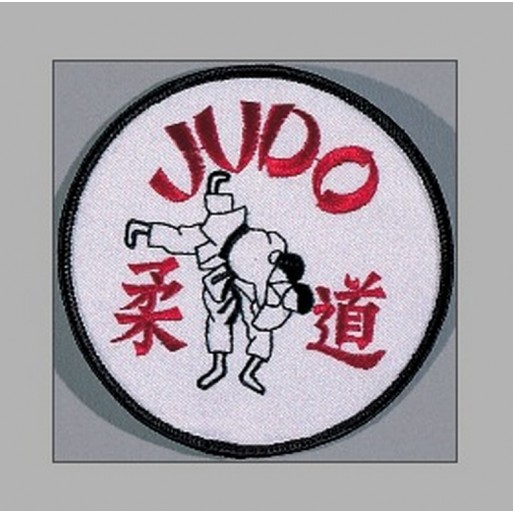 "Sewn badge Judo technique"" 9,5cm"""