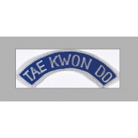 Sewn badge TKD