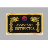 Sewn badge Ass. Instructor