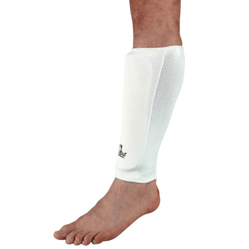 Shin guard pair white
