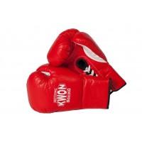Profesionalne boksarske rokavice z vezalkami