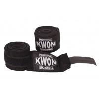 Profesionalne boksarske bandaže, elastične, črne, 5 m