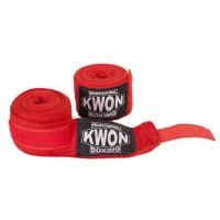 Profesionalne boksarske bandaže, neelastične, rdeče, 5 m