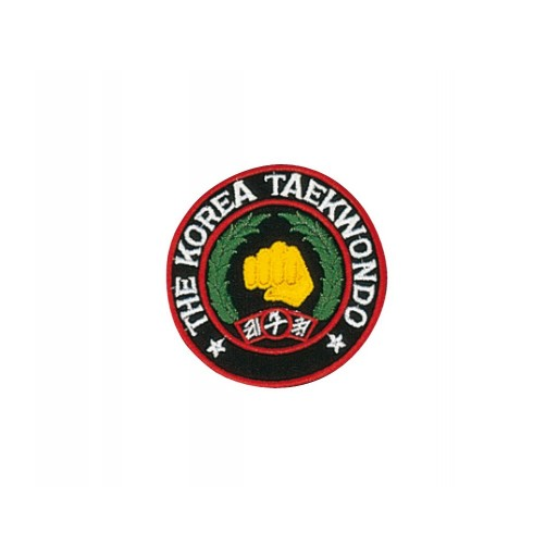 Sewn badge Korea TKD black