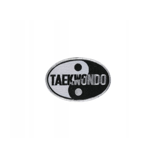 Sewn badge TKD Yin&Yang