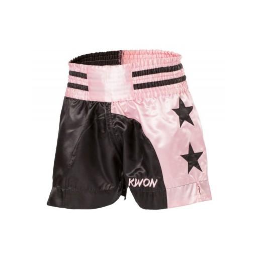 Kratke hlače Thai  za ženske  roza / črna