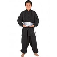 Clubline Kung Fu kimono, črn