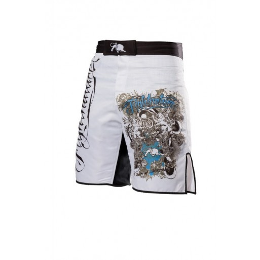 Fightnature kratke hlače Predator, bele