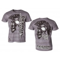 T-Shirt L.O.Fight or Die, grey