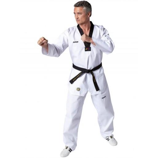 Taekwondo kimona Victory, črna rever - WT priznana