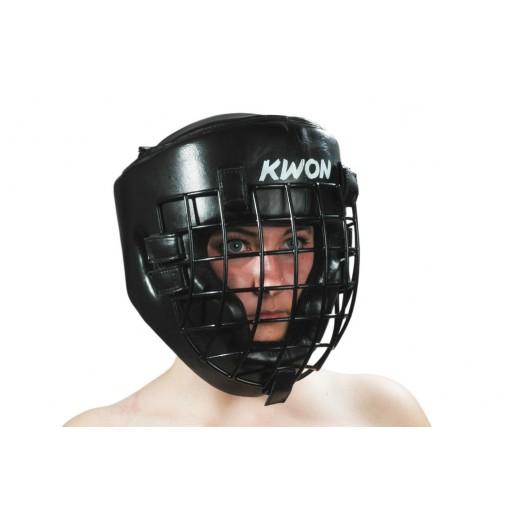 Čelada z železno masko