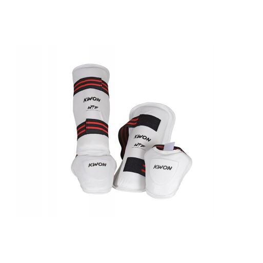 Shin Instepguard Evolution white