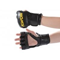 MMA rokavice usnjene črne