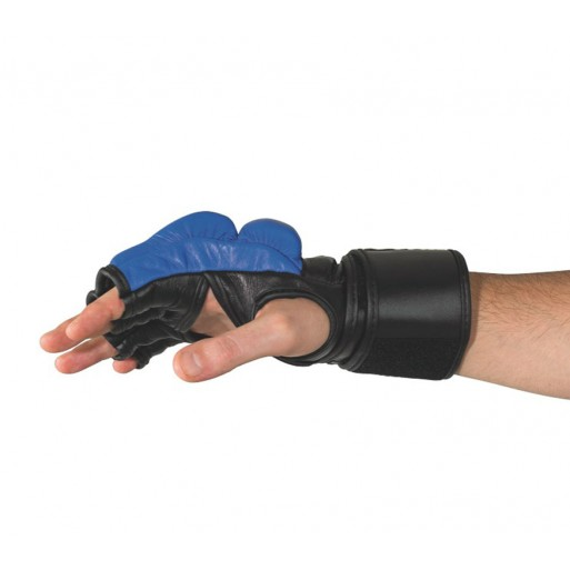 Mixed Fight Glove blue black
