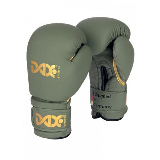Boksarske rokavice, DAX EDITION, olivno zelene