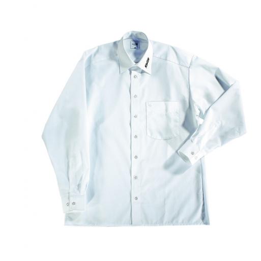 Shirt longsleeve white