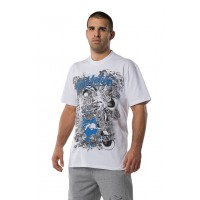 FIGHTNATURE T-Shirt Predator bela