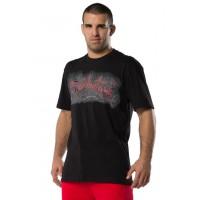 FIGHTNATURE majica črno/rdeča